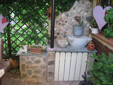 fontana nel mio piccolo giardino