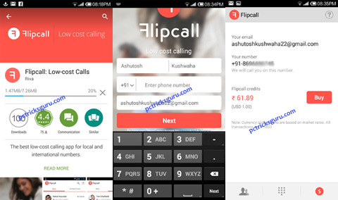 making cheap calls with flipcall