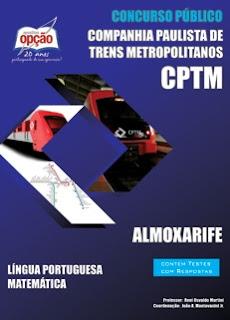 Apostila CPTM - Cia Paulista de Trens Metropolitanos (SP).