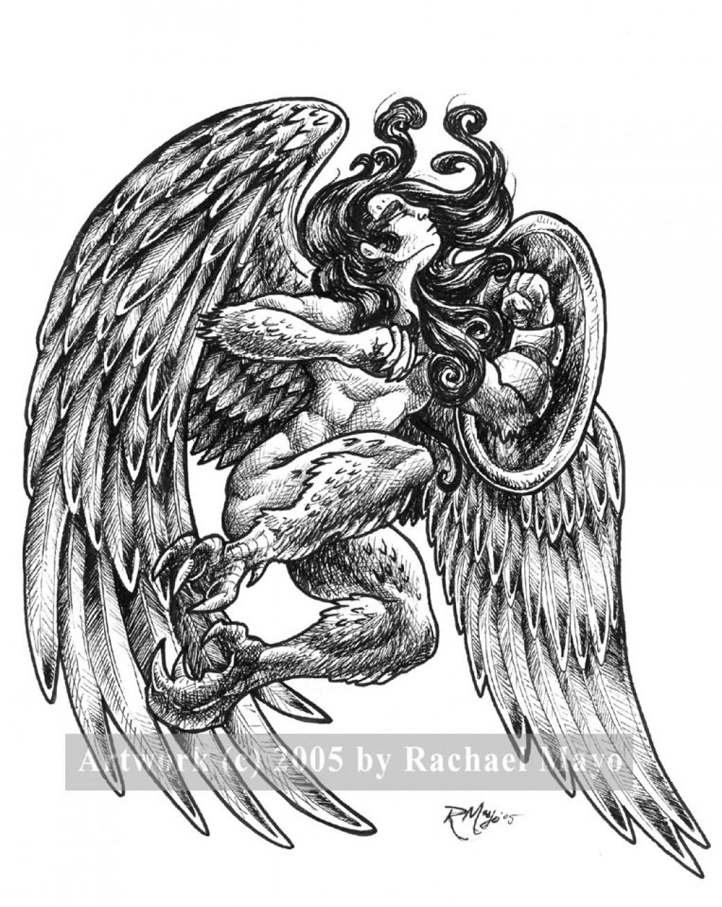 Tremorworks: Harpy 3 bw por rachaelm5