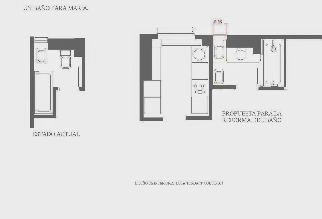 reforma para el confort en el baño lolatorgadecoracion.es