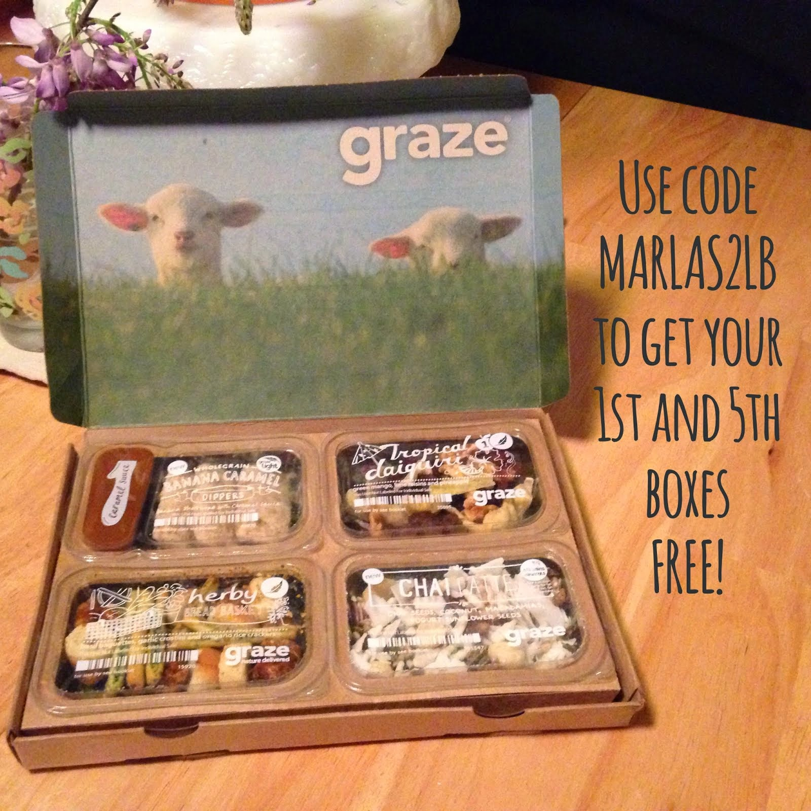 New Customers: Click the box and use code MARLAS2LB to get your 1st and 5th boxes for free!