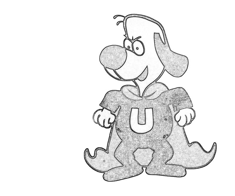 underdog coloring pages printable - photo#18