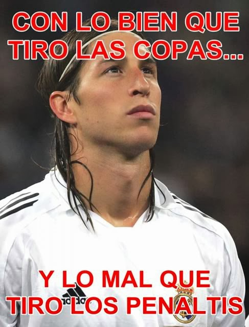 Sergio Ramos Copa del Rey autobús caída humor cachondeo bromas guasa memes mofa befa