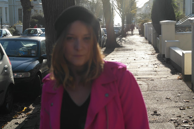 Gap Pink Jacket by What Laura did Next