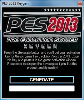 Pro Evolution Soccer 2013 Activation Key Generator – PES 2013 Crack