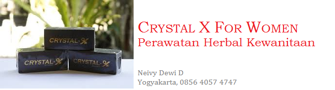 Crystal X For Women (Perawatan Herbal kewanitaan)