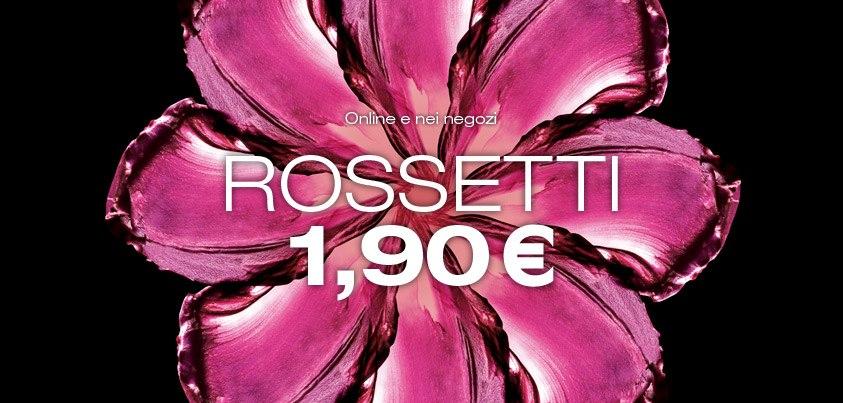 KIKO Rossetti a 1,90€