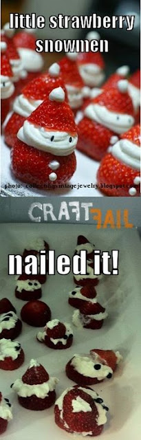 strawberry santas, strawberry santa fail, pinterest fail