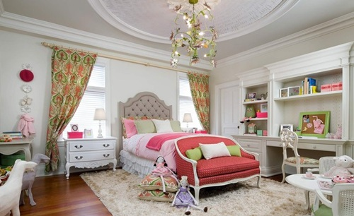 If You Are Looking For A Charming Idea For A Girl Bedroom Then I Think That  You Will Be Delighted By This Amazing Bedrooms.This Sets Combines Modern  Fashion ...