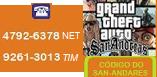 Código do GTA - San Andares