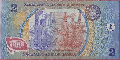 Samoa 2 Tala 1990 P# 31c