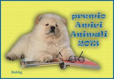 Premio amici animali 2013
