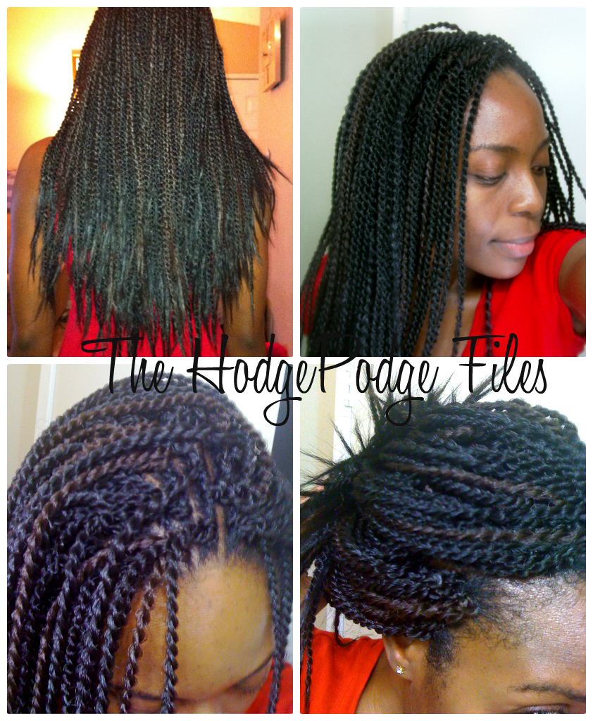Light Brown Senegalese Twists - Viewing Gallery