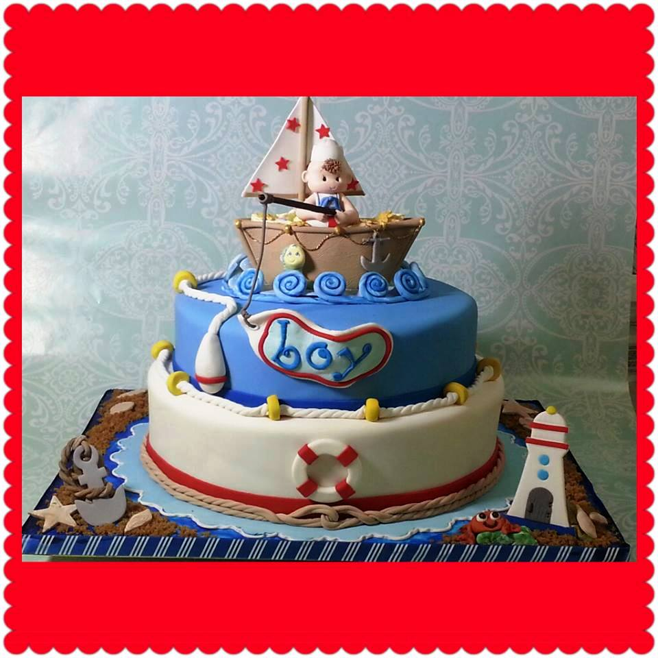 Cakes By Gleibis Quot Nautical Baby Shower Quot