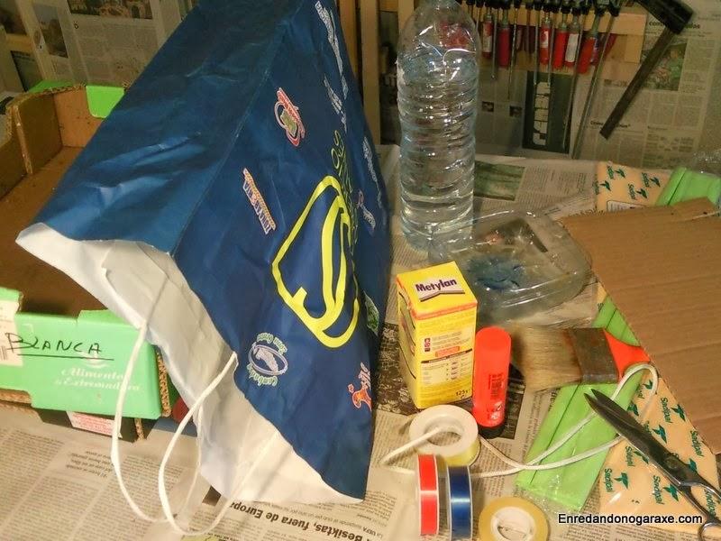 Materiales para fabricar una piñata, enredandonogaraxe.com