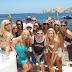23 de agosto: Fiesta en barco en Sanxenxo