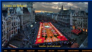 """Meu  blog """"A vida na Bélgica'"""