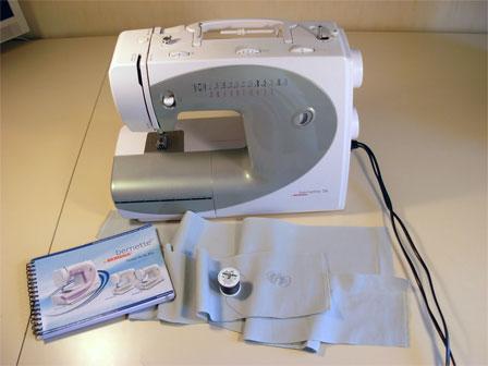 Scuola di cucito il corso super principianti infilare for Macchina per cucire elettrica