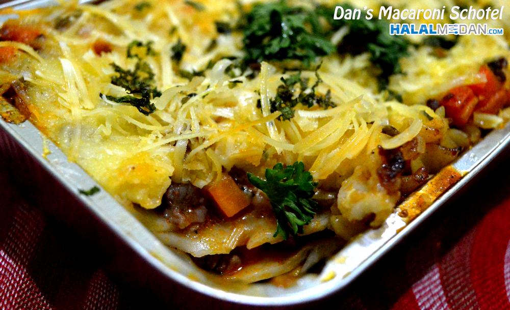 Lasagna Home Made by Dan's Macaroni Schotel