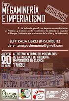"Foro ""Megaminería E Imperialismo"""