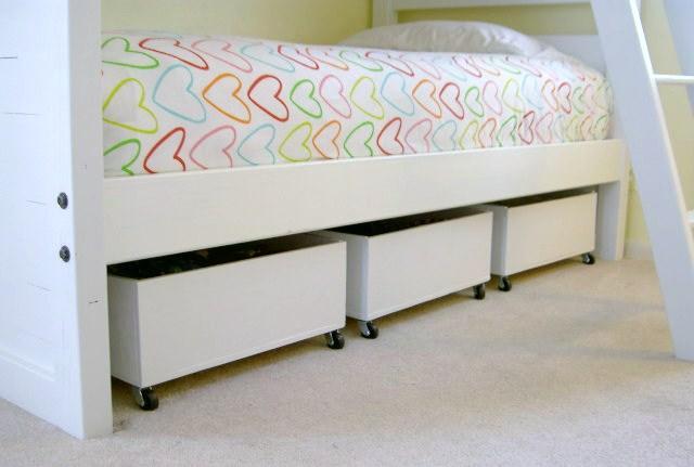 That 39 s my letter diy underbed storage bins from plywood - Diy under bed storage ideas ...