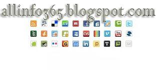Social Media Mini Iconpack