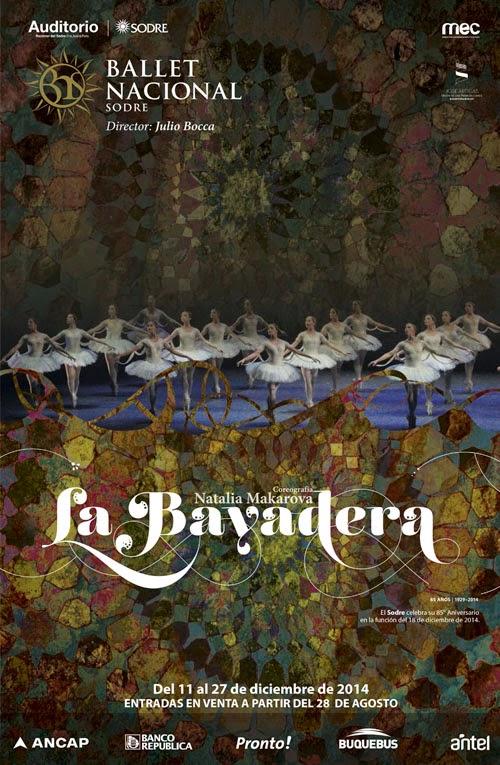 LA BAYADERA | DEL 11 AL 27 DE DICIEMBRE DE 2014 / Entradas a la venta