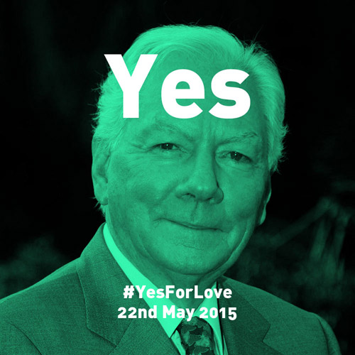 Yes for Love by John Mahon (The Locals)