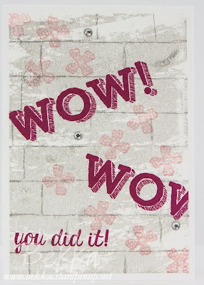 Back To School Week - Day 3 - The Writing Is On The Wall Congratulations Card