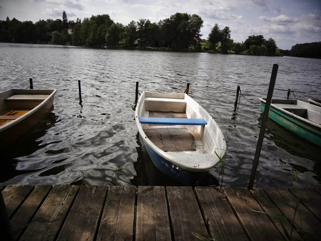 Germany lakes and boats