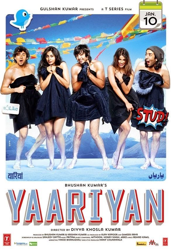 Yaariyan (2014) Bollywood Hindi Movie DVD