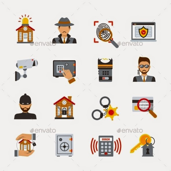 Surveillance and Security vector files