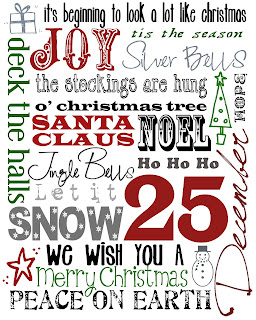 Free Holiday Amp Christmas Printables Spilled Glitter