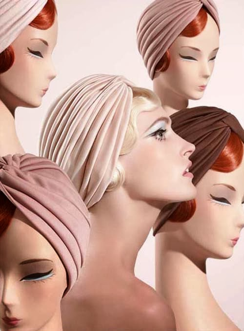 Mid-Week Inspiration Blush Turbans