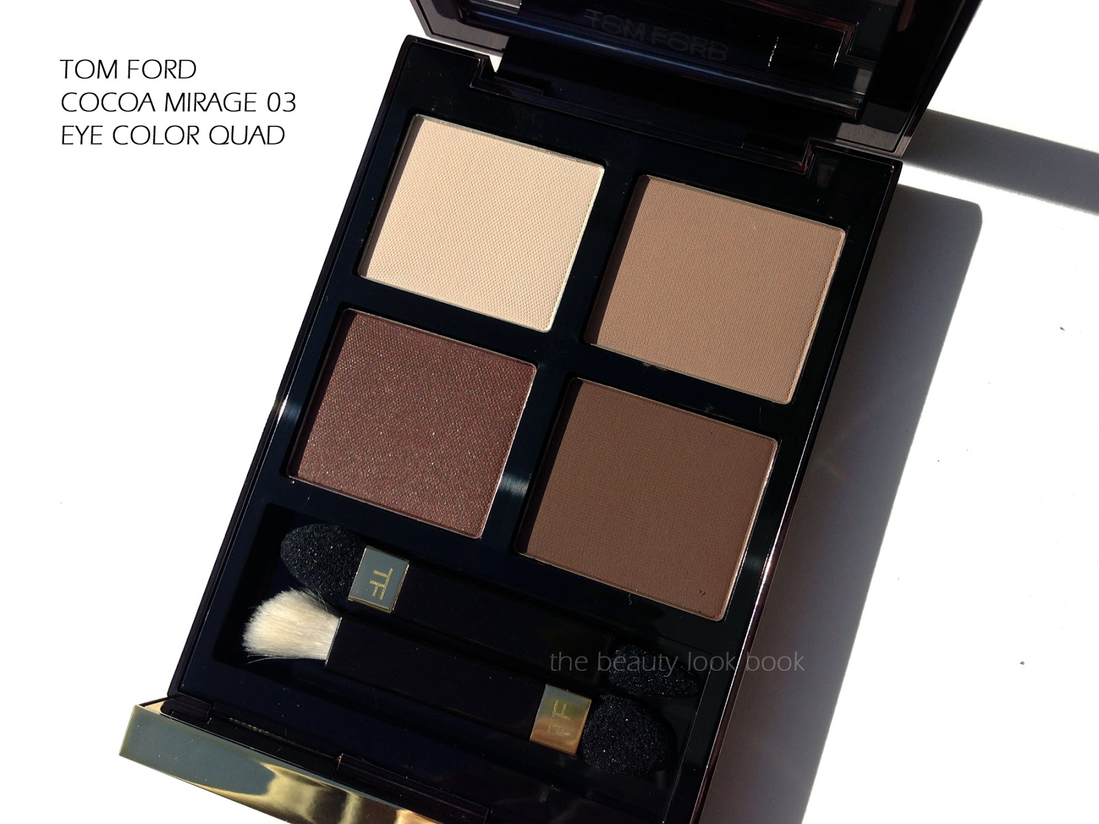 Tom Ford Cocoa Mirage Eye Color Quad The Beauty Look Book