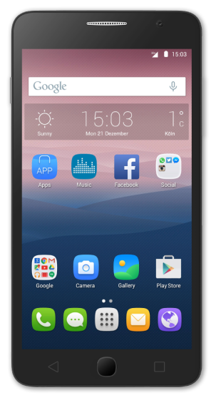 Alcatel Onetouch Pop Star 5022d Smartphone On Offer At Penny Markt