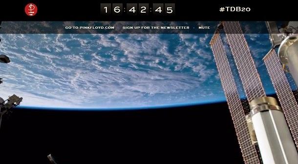 Veja a Terra do espaço ao som dos Pink Floyd (com vídeo)