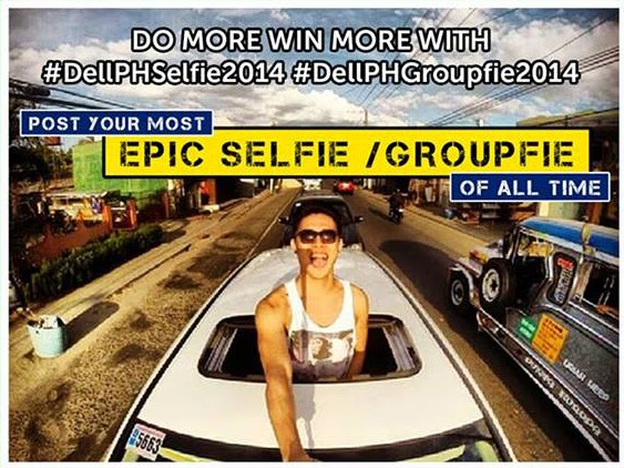 Get a Chance to Win Cool Items on Dell PH Selfie and Groufie Promo