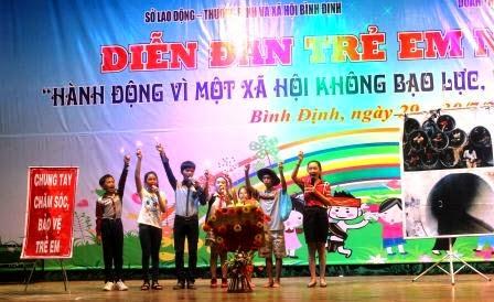 Ấn tượng Diễn đàn trẻ em năm 2014, dien dan tuoi tre