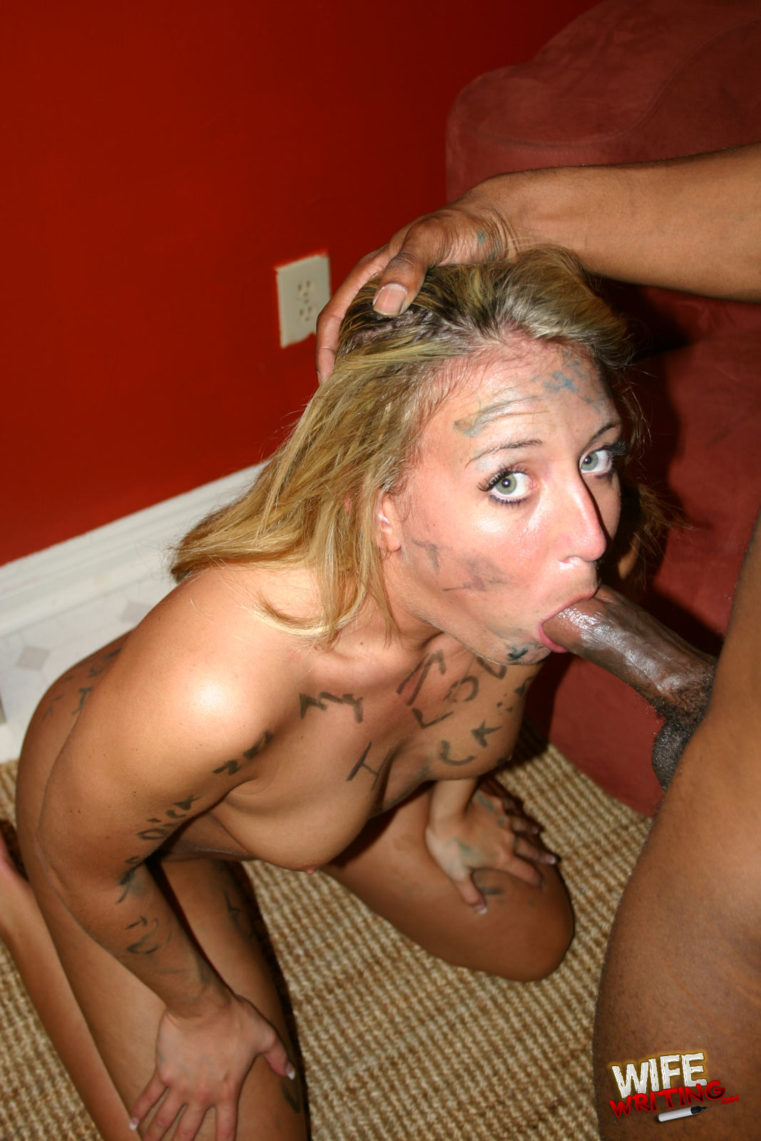 Deepthroat cock sucking free