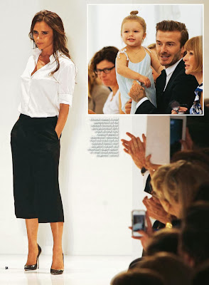 Victoria Beckham HQ Pictures Hello UK Magazine Photoshoot February 2014