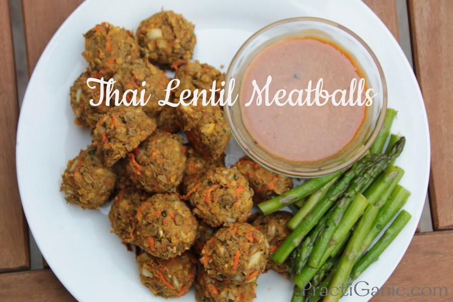 Vegan Thai Lentil Meatballs