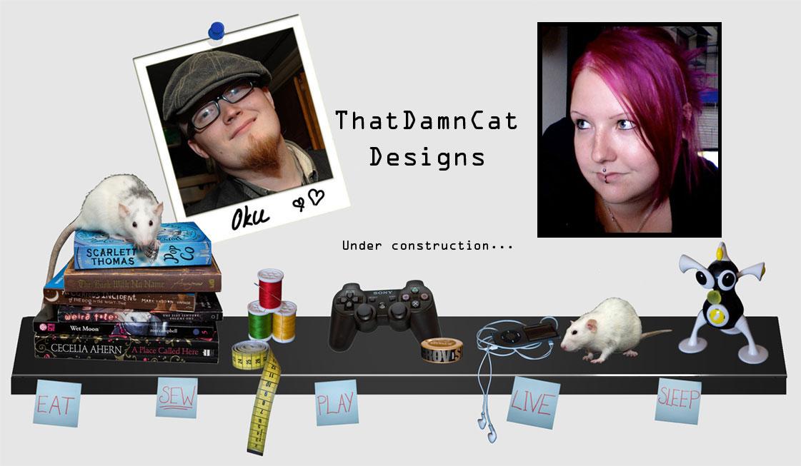 ThatDamnCat designs