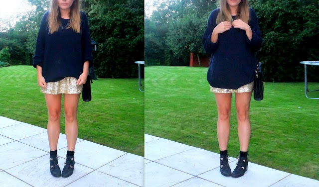 Sequins on Skirts