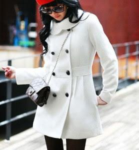 casaco de inverno feminino, casaco de inverno feminino branco