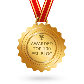 TOP 100 ESL BLOG - 2017