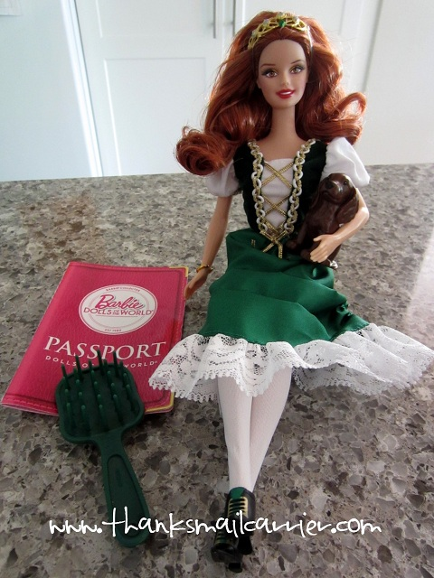 Ireland Barbie Doll review