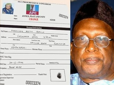 Bamanga Tukur's Wife Dumps PDP, Register With APC