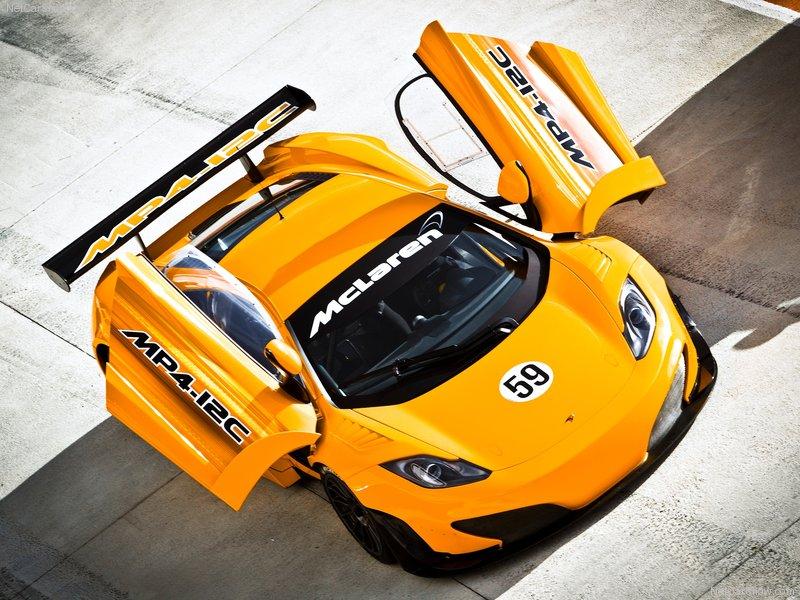 2011 McLaren New Race Car MP4-12C GT3